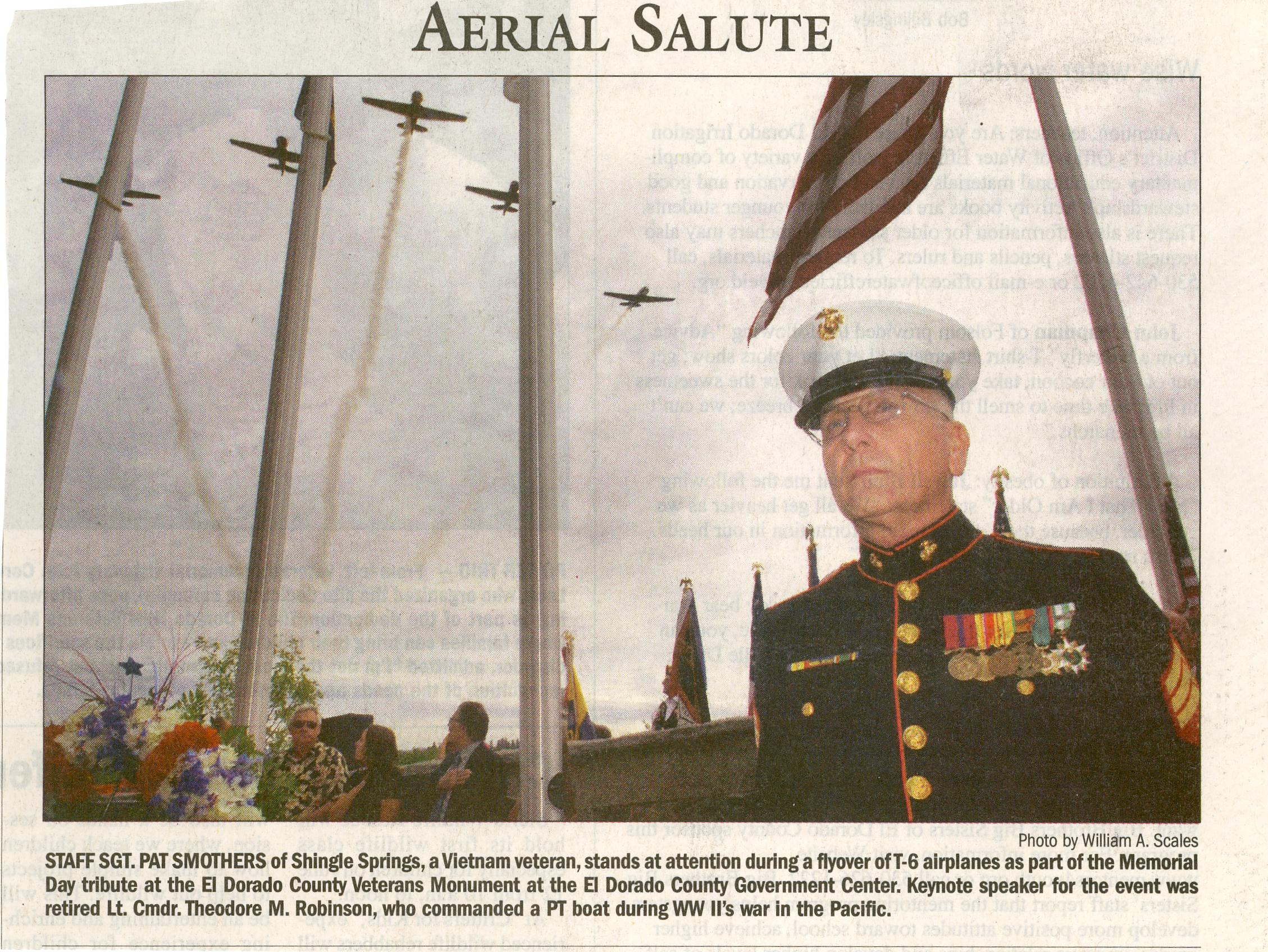Sgt. Pat Smothers, USMC